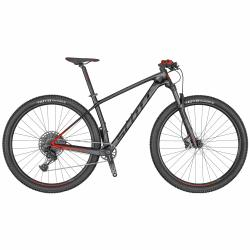 Horský bicykel SCOTT Scale 940 black/red